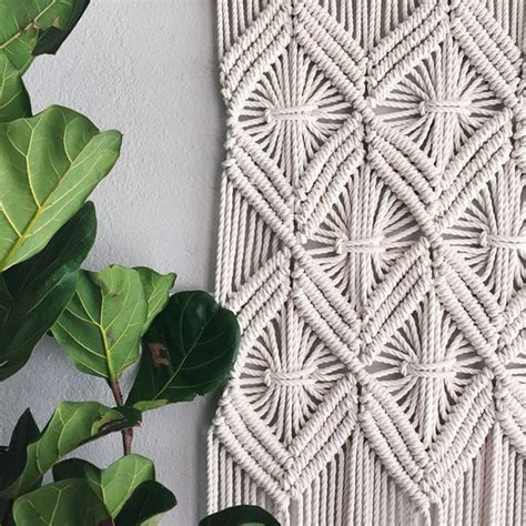 Macrame Net Pattern - macrame patterns macrame pattern macrame wall hanging