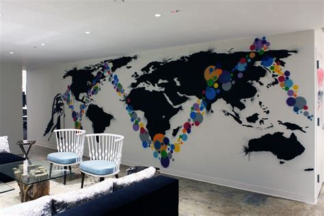 art design office weber shandwick office graffiti ny graffiti usa