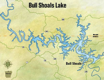 public boat rs bull shoals lake little rock district gt missions gt recreation gt lakes