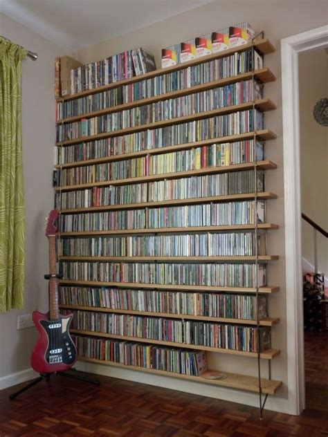 cd bookshelves 17 best ideas about dvd storage shelves on dvd