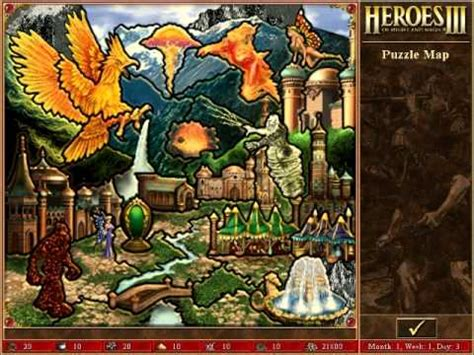 heroes 3 africa map heroes 3 ost puzzle map mystery