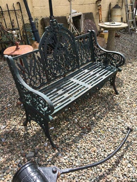 cast garden bench decorative cast iron garden bench