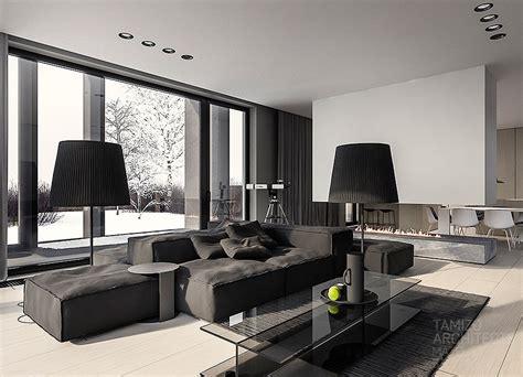 black interior house black ls interior design ideas