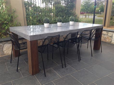 Concrete Patio Table Concrete Tables Concrete Benchtops Canberra