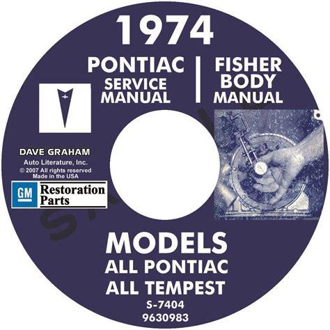 free online car repair manuals download 1974 pontiac grand prix interior lighting 1974 pontiac repair manual body manual all models