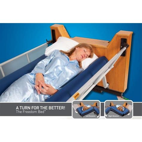 freedom bed automatic lateral rotation   tired