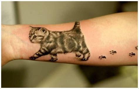 tattoo cat footprint cat tattoo designs ideas 10
