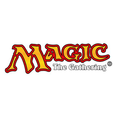 magic the gathering magic the gathering logo vector in eps vector