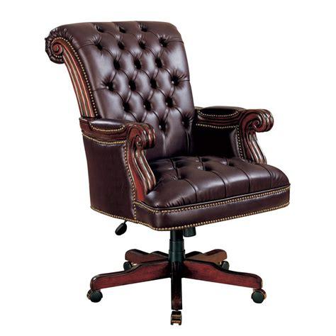 vinyl office chair shop coaster furniture burgundy vinyl executive