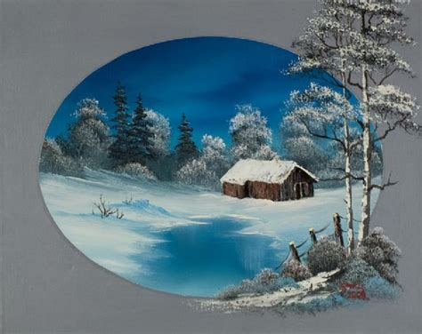 bob ross painting a barn oval barn painting bob ross paintings for sale pictures