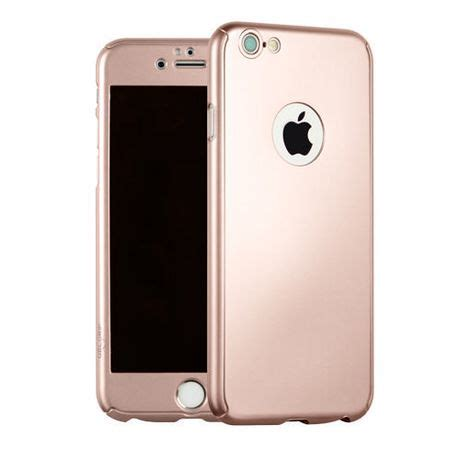 gel grip reborn gold for iphone 6 6s tempered glass screen protector included