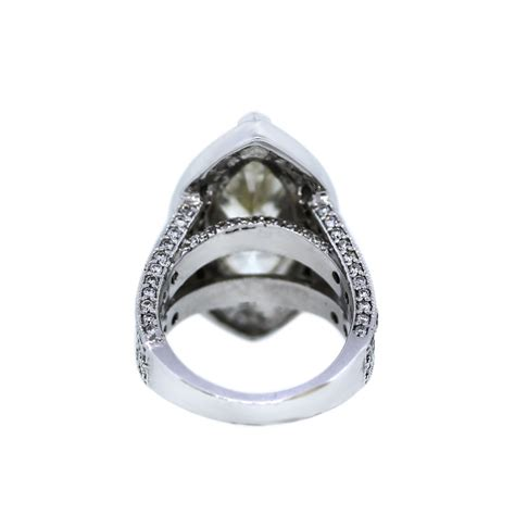 14k white gold 7 20ct marquise engagement ring