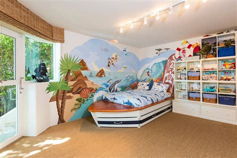 beach themed bedrooms for kids beach bedroom wall art for kids with awesome interior