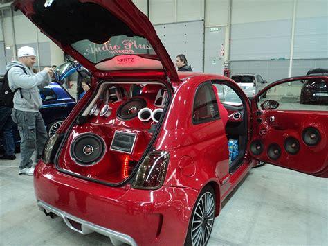 modifiche interni auto file fiat 500 rome tuning show jpg wikimedia commons