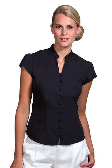 blusas para uniformes elegantes hosteleria camisas blusas para hosteler 237 a 797 11