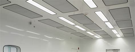 Cleanroom Ceiling Systems by Walkable Ceilings For Cleanroom With Integrated Utilities