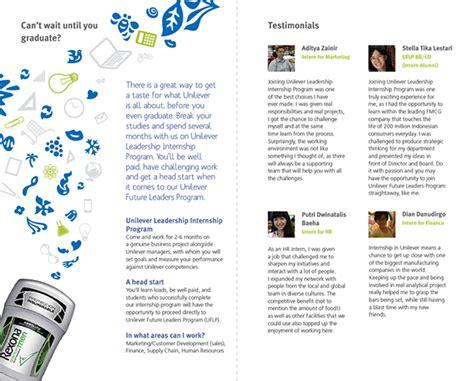 design internship indonesia unilever indonesia career internship program on behance