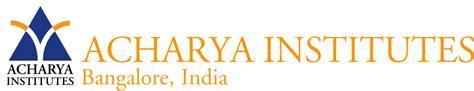 Acharya Institute Of Technology Mba by Acharya School Of Management Acharya Institute Of
