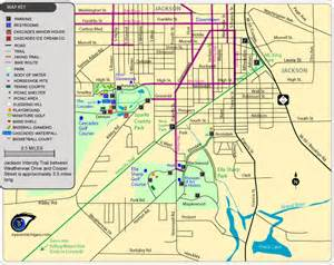 maps of parks trails more in jackson michigan
