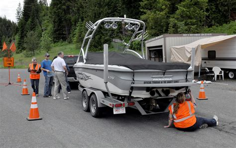 watercraft inspection stations help protect habitat from - Idaho Boat Inspection