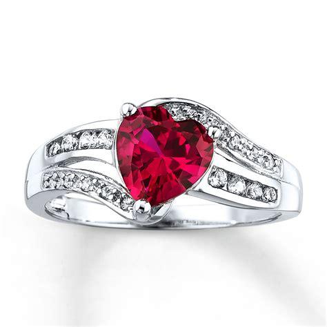 ruby ring lab created ruby ring lab created sapphires sterling