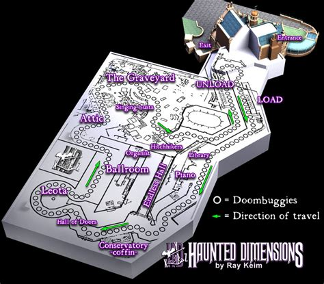 haunted mansion floor plan floor plan of the haunted mansion ride at wdw my all time