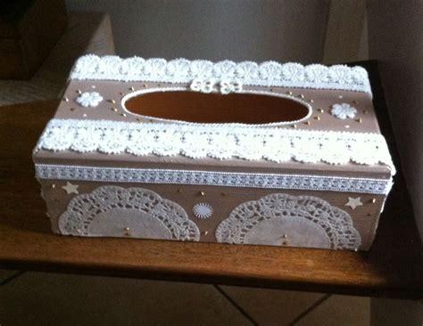 Decoration Boite Bois by Boite A Mouchoir Rectangulaire En Bois Shabby Chic