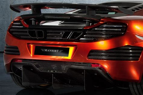 mansory mclaren mansory mclaren mp4 12c is burning carbon in geneva