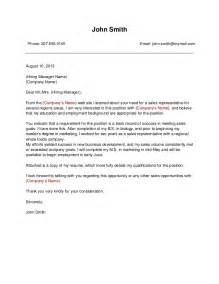 Cover Letter To Company by Template 1 Business Cover Letter