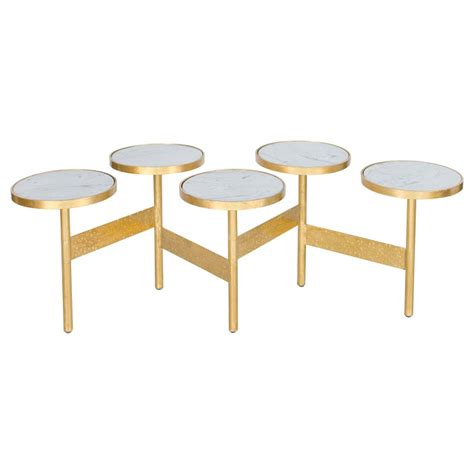 Hinged Coffee Table Copy Cat Chic Zinc Door World S Away Eric Hinged Circle Coffee Table