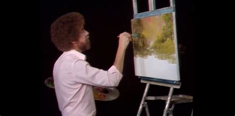 bob ross painting twitch the twitch the is going