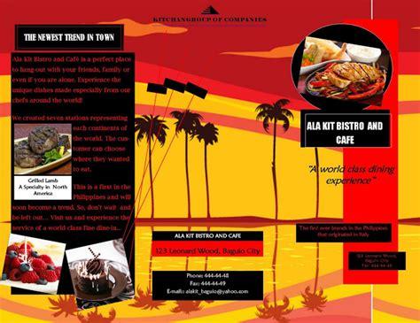 desain brosur internet contoh brosur internet gambar con