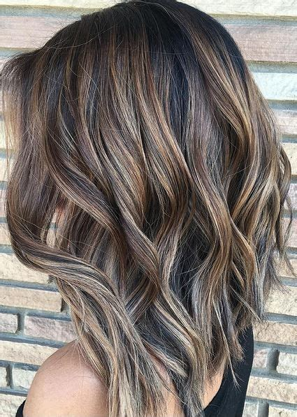 pinterest highlights for brunettes amazing ashy brunette highlights hair pinterest