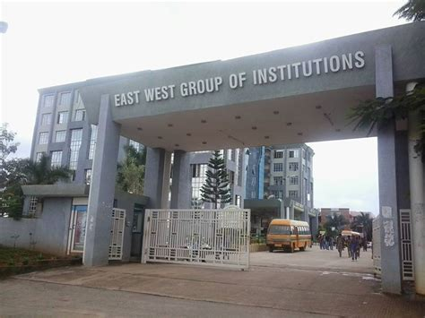 Of East Mba Fees by East West College Of Engineering Ewce Bangalore