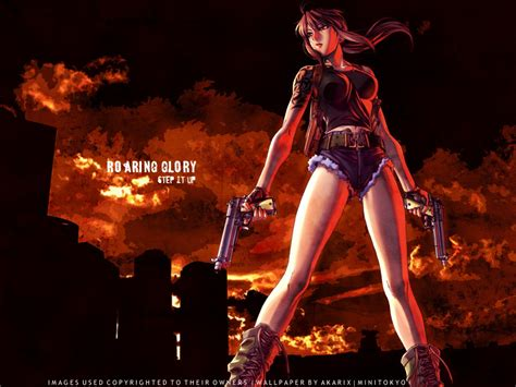 wallpaper black lagoon hd black lagoon revy
