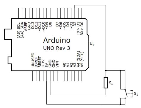 arduino pull resistor arduino pull up resistor switch 28 images arduino uno understanding flow of current with