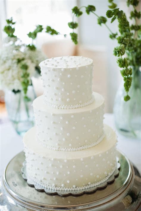 White Wedding Cake by White Wedding Cakes Southern Living