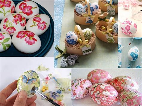Decoupage Decorating Ideas - 12 easter egg decorating ideas be creative and go beyond