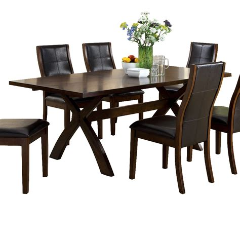 furniture of america cm3339t toronto dining table atg stores