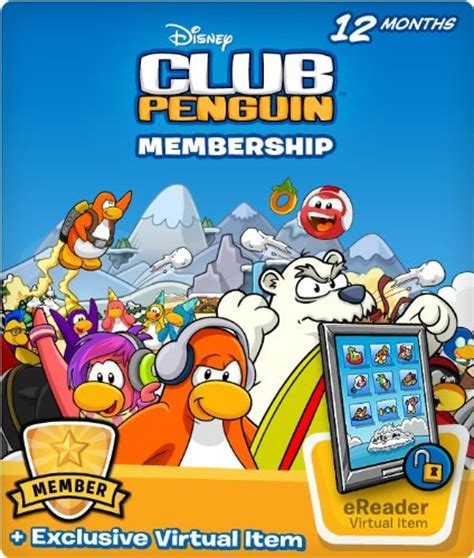 Club Penguin Membership Gift Card - gift ideas for tween girls they will love omg gift emporium