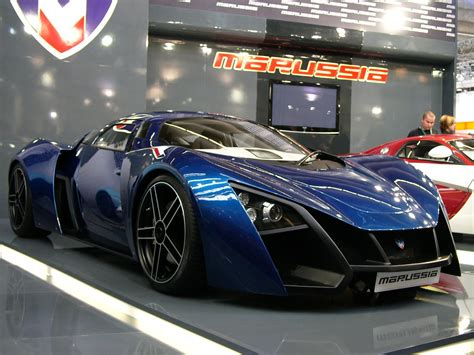 Russisches Auto by Russia S Marussia Launches B1 And B2 Sports Cars
