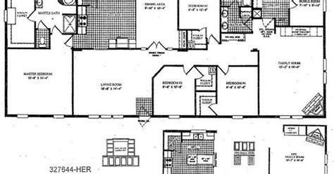 Le Nouvel Ardmore Floor Plan 4 Bedroom Double Wide Floor Plans Fleetwood Mobile Home
