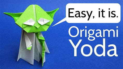 How To Make An Origami Yoda Easy - origami yoda easy tutorial jedi news broadcasting
