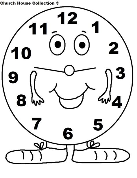 pages free daylight saving time coloring pages