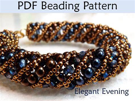 beading tutorial pattern bracelet necklace tubular