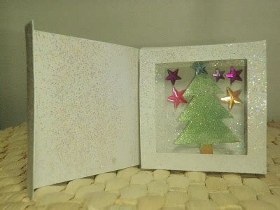 Free Shadow Box Card Template by Crafting The Frugal Way Shadow Box Card