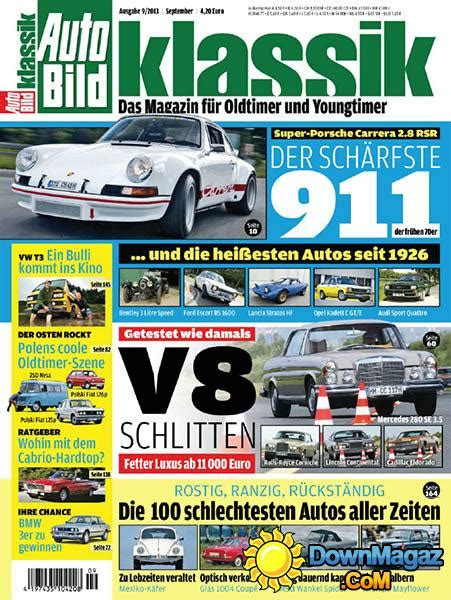 Auto Bild 09 by Auto Bild Klassik No 09 September 2013 187 Pdf