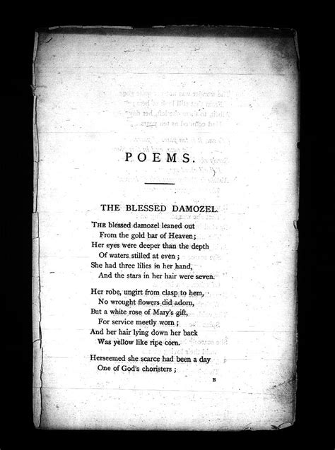 Poems. (Privately Printed.): A Proof (partial), Princeton