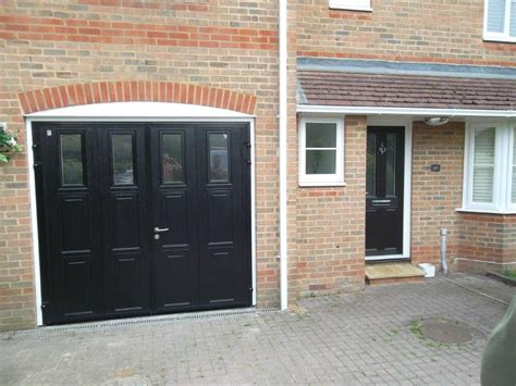 Hinged Garage Doors Carteck Side Hinged Insulated Camberley Doormatic Garage Doors