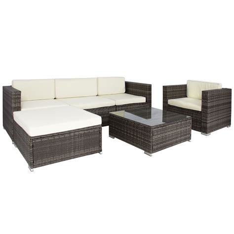 outdoor wicker sectional sofa set rattan sofa sets 6pc outdoor patio garden wicker furniture